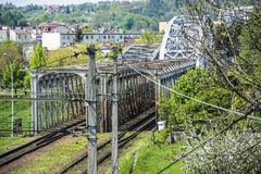 Railway Bridge Stock Image
