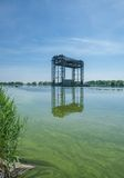 Railway Bridge,Usedom Island,baltic Sea,Germany Stock Images