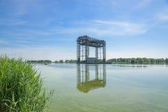 Railway Bridge,Usedom Island,baltic Sea,Germany Royalty Free Stock Images