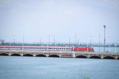 Railway bridge in Venice Stock Photography