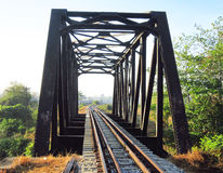 The railway brigde Royalty Free Stock Images