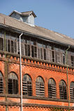 Railway building conservation project in Yangon, Myanmar Royalty Free Stock Photo