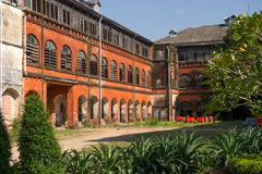 Railway building conservation project in Yangon, Myanmar Stock Images
