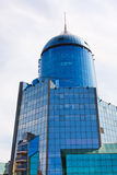 Railway building in Samara city royalty free stock images