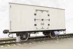 Railway car - glacier Royalty Free Stock Image