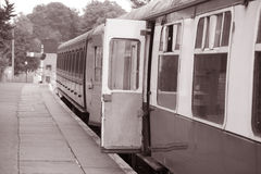 Railway Carriage Door Stock Photography