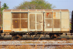 Railway carriages World War 2 Royalty Free Stock Images