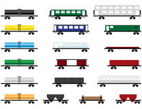 Railway cars royalty free stock images