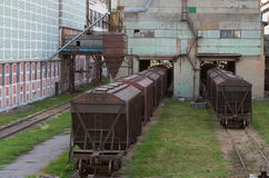 Railway cars Stock Image