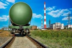 Railway cistern Stock Image