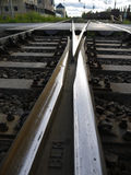 Railway tracks Stock Images