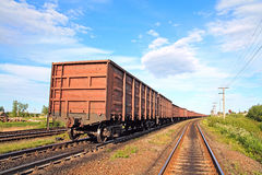 Railway Coach Royalty Free Stock Photo