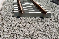 Railway construction Stock Image