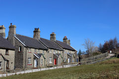 Railway cottages at Garsdale, North Yorkshire Stock Photography