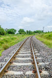 Railway in the Countryside Royalty Free Stock Photos