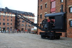 Railway crane Stock Photography