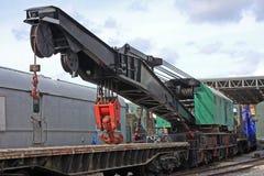 Railway Crane Royalty Free Stock Images