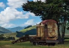 Railway Crane Resting Royalty Free Stock Photography
