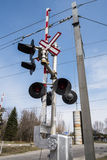 Railway Crossing Royalty Free Stock Image