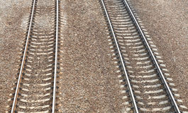 Railway at day Royalty Free Stock Photos