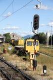 Railway depot Stock Image