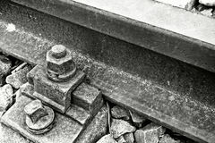 Railway detail Royalty Free Stock Images