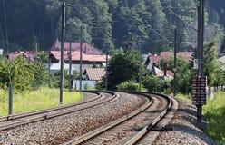 Railway - RAW format Stock Photos