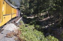 The railway from Durango to the silver town of Silverton Colorado USA Royalty Free Stock Photo