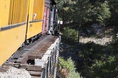 The railway from Durango to the silver town of Silverton Colorado USA Stock Photography