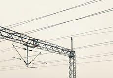 Railway Electric Power Royalty Free Stock Photos