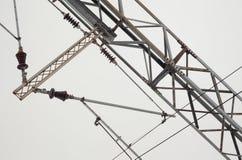 Railway Electric Power Stock Photo