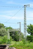 Railway electricity Royalty Free Stock Image