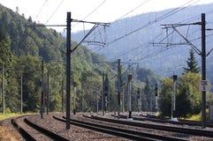 Railway - RAW format Stock Image