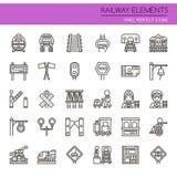 Railway Elements Stock Photo
