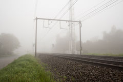 Free Railway Foggy Stock Photo - 40313560