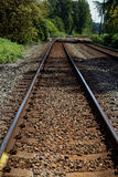 Railway in fort langley Stock Photography