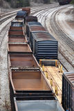 Railway Freight Cars Stock Photos