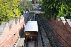 Railway funicular Royalty Free Stock Photo