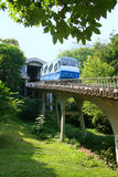 Railway funicular in Kiev Stock Photo