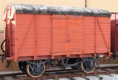 Railway Goods Wagon. Stock Image