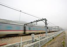 Railway in Hong Kong Stock Images