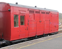 Railway Horse Wagon. Royalty Free Stock Photos