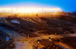 Railway hub Stock Photography