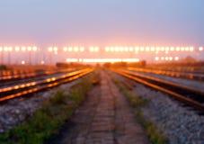 Railway hub Royalty Free Stock Image