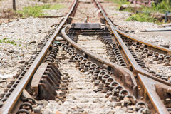 Railway the important way for transportation. Royalty Free Stock Photography