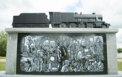 Railway Industry Memorial at Alrewas Stock Photo