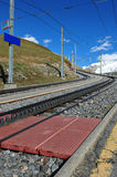 Railway Infrastructure Stock Photo