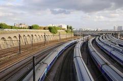 Railway Interchange station Royalty Free Stock Photo