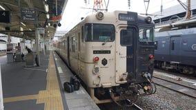 Railway in Japan stock photo