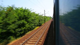 Railway Journey stock footage